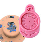 Uhr Form 3D Back Sugarcraft Form DIY Candy Ton Silikon Schokoladenform Gdd