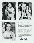 "8""x 10"" photo-Bob Feller-Cleveland Indians- three career no-hitters-autographed"