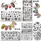 Harunouta Nail Art Stamping Plate Image Template Pro  Decoration Collect