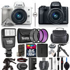 Canon EOS M50 Mirrorless Digital Camera with 15-45mm Lens + 3 Piece Filter Kit