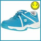 Wilson Envy Methyl Blue Junior Tennis Shoe - Sizes 1.0 to 5.0 - New in box