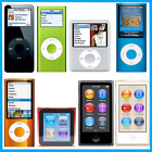 Apple iPod Nano 2nd 3rd 4th 5th 6th Generation 2GB 4GB 8GB 16GB - Black Silver