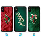 Minnesota Wild Case For Apple iPhone X Xs Max Xr 8 7 6 6s Plus $4.49 USD on eBay