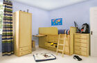 Wooden Captains Bed / Midi Sleeper / Storage Bed / Cabin Bed