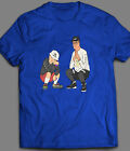 KING OF THE HILL HANK & BOBBY RAP INSPIRED T-SHIRT - OLDSKOOL CUSTOM RARE ART  image