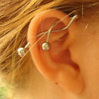 1Pc 14g Cool Twist Spiral Ear Industrial Barbell Belly Ring Piercing Earring Cod