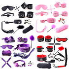7PC Bondage Kit Under Bed Restraint Set BDSM Love Cuffs Multicolor