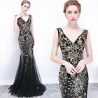 Angel-fashions Women's Strapless Sequins Branch Mesh Mermaid Evening Dresses 101