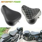 Black Leather Front Driver Solo Seat Cushion For Harley Sportster XR883 1983-200 $59.95 USD on eBay