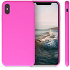 Silicone Case for Apple iPhone XS Max - TPU Rubberized Cover