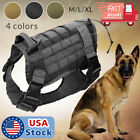 Kyпить US Police K9 Tactical Training Dog Harness Military Adjustable Molle Nylon Vest на еВаy.соm