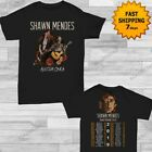 Shawn Mendes t Shirt self-titled tour 2019 T-Shirt size Men Black Gildan 2 side image