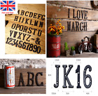 Cast Iron Alphabet Retro Metal Letters Address Door Numbers Sign Cafe Wall Decor