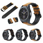 Leather Strap Band Wrist For Samsung Galaxy Gear S3 Frontier 46mm Smart Watch