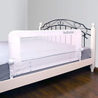 """KOOLDOO 43"""" Fold Down Toddlers Safety Bed Rail Children Bed Guard with NBR Foam"""