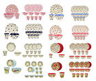 Emma Bridgewater Melamine Picnic, Children Plates Cups & Bowls in sets 3 or 12