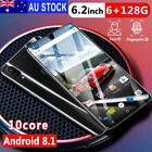 Au X23 6gb+128gb Android Dual Sim Ram 6.2 Inch Hd Camera Quad-core Mobile Phone