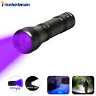 8000lm LED UV Flashlight UV/L2/T6 light LED Torch lanterna Zoomable 395nm 18650 comprar usado  Enviando para Brazil