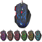 Adjustable 5500DPI Optical 7-LED Wired PC Gaming Mice Mouse For Laptop PC Mouse