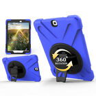"""For Samsung Galaxy Tab A E 8.0"""" 9.7"""" 360° Rotating Heavy Duty Stand Case Cover"""