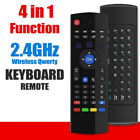2.4Ghz Wireless Air Mouse Remote Control / Keyboard For KD Android TV Box PC Rpi