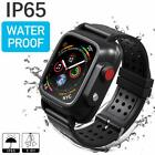 Waterproof Watch Case for iWatch Series 3 42mm Screen Protector Watch Strap Band image