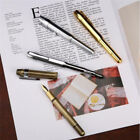 Metal Pen Travel Pocket Pens Business Writing Pen Stationery Supply Multi-color