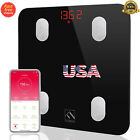 Bluetooth Body Fat Scale,  Smart Wireless Digital with App for Body Weight