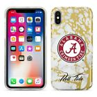 Alabama Crimson Tide Marble iPhone X Case