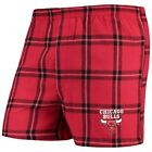 Chicago Bulls Concepts Sport Homestretch Flannel Boxer Shorts - Red on eBay