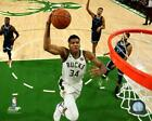 Giannis Antetokounmpo Milwaukee Bucks NBA Photo VV194 (Select Size) on eBay