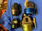 Vintage fishing reel lot ,Sears, Ace, Mitchell, Diawa etc.