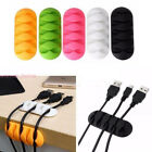 New Cable Drop Clip Desk Wire Tidy Organiser Cord Lead USB Charge Holder Fixer