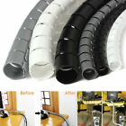 2M Polyethylene Spiral Cable Wire Wrap Tube Cord Pipe 10/25mm Dia