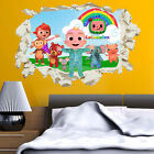 Paw Patrol Wall Sticker Decal Smashed Crack Gang Kids Bedroom Home Decor 2019