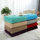 Soft Blanket Refined Craft Plaid Flannel Fleece Blanket Knee Blanket Wool Velvet image