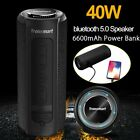 40W bluetooth 5.0 Tronsmart Element T6 Plus Stereo Speaker Waterproof Subwoofer