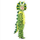 Kids Dinosaur Costume Halloween Fun Fancy Dress Tyrannosaurus Rex Triceratops
