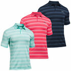 Under Armour UA Coolswitch Bermuda Stripe Golf Polo Shirt - 1298947