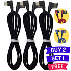 Samsung Galaxy S20 S10 S9 S8 Type C Charger Cable 90 Degree USB C Charging Cord