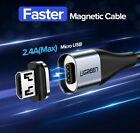 Ugreen Magnetic Micro USB Cable Fast Charging USB Data Transfer 480 Mbps...