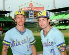 Robin Yount & Paul Molitor Milwaukee Brewers MLB Photo WL124 (Select Size) on Ebay