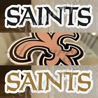 New Orleans Saints Sticker Decal Vinyl Sign NFL #WhoDat Football