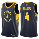 Indiana Pacers # 4 Victor Oladipo Basketball Jersey black Size: S - XXL on eBay