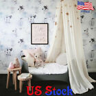 Kids Princess Bed Canopy Round Dome Castle Tent Hanging Mosquito Net Home Decor image