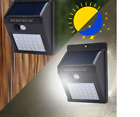 LEDs Solar Light 1-4Pcs 20/30 LEDs Outdoor Lighting Energy Saving Street