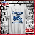 FREESHIP Triumph Motorcycles Bob Dylan Highway 61 Revisited T-Shirt White S-6XL $21.99 USD on eBay