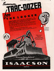 1945 AD ISAACSON IRON WORKS TRAC DOZER FOR THE LOGGER TRADE JOURNAL