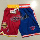 Houston Rockets New York Knicks just don splice finals Basketball Pants Shorts on eBay
