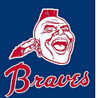 Atlanta Braves  set of 2 decals, corn hole , Free shipping, Made in USA #5 on Ebay